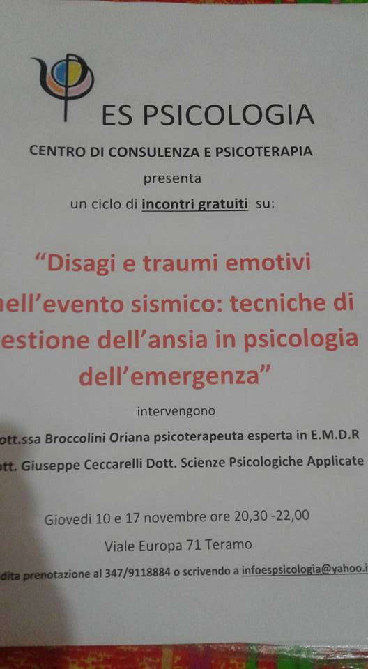 disagio e trauma emotivo